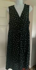 HM Mama Smocking-Detail Maternity Dress Black Size XL