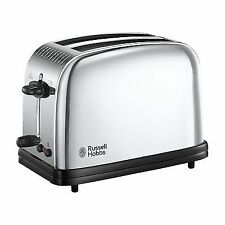 Russell Hobbs 23310 Classic Long Slot 2 Slice Toaster - Stainless Steel Silver