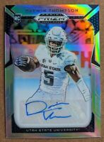 Darwin Thompson - Chiefs SILVER PRIZM AUTO RC 🔥💎 2019 Panini Prizm Draft Picks