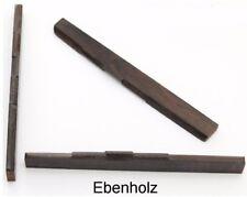 Ebenholz-Steg 80 mm, voll kompensiert, Typ EB-01