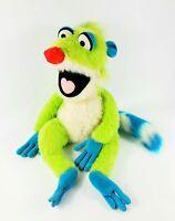 "Walt Disney World Jim Henson Treelo Lemur Plush Bear In The Big Blue House 24"""