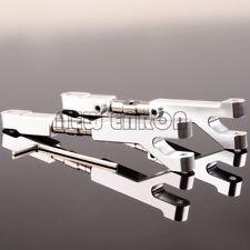 2P SILVER ALUMINUM Adjustable Upper Arms FOR HPI Savage 4.6 5.9 FLUX 85066 85067