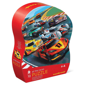 Crocodile Creek 72 Piece Puzzle - At The Races