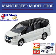 """Tomica 52 Nissan Serena E-Power white """"New 2018"""" sticker BOXED FACTORY SEALED"""