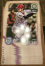 SHOHEI OHTANI 2018 Topps Gypsy Queen Poster 10x14 /99 QTY RC