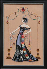"""COMPLETE XSTITCH KIT """"AT THE MET MD135"""" by Mirabilia"""