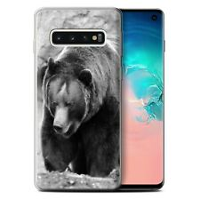 Animaux de zoo Coque Gel pour Samsung Galaxy S10/Ours