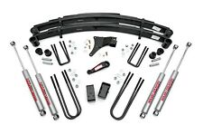 """ROUGH COUNTRY 4"""" SUSPENSION LIFT KIT FORD F350 86-98 STRAIGHT AXLE 4WD 4X4"""
