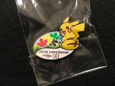 2010 VANCOUVER OLYMPIC MEDIA PIN BADGE JAPANESE TV TOKYO PIKACHU PINS