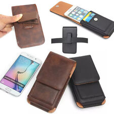 New Leather Vertical Holster Belt Clip Loop Pouch Case for Samsung Sony LG Phone