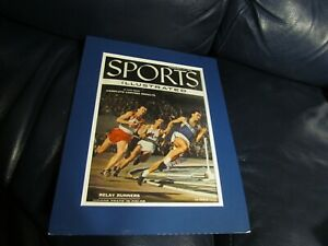 Charles Maute Chick Autographed Sports Illustrated with Frame