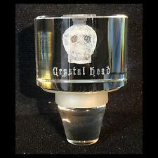 Rare CRYSTAL HEAD VODKA Glass Promotional Bottle Stopper EUROPE Premium Promo