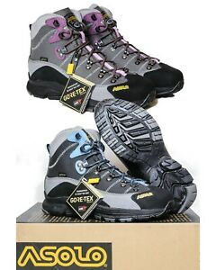 NEW Asolo Horizon 1 Gore-Tex Womens Hiking Boots - All Sizes -Choose Blue/Purple