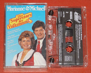 MC TAPE - Marianne & Michael Die Superstars der Volksmusik ARIOLA 1992