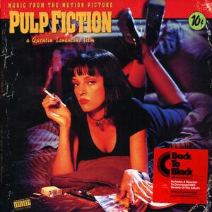 Pulp Fiction Movie Soundtrack Vinyl Record: Vinyl