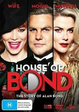 House Of Bond DVD NEW Region 4 Alan Bond Sam Neill
