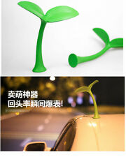 Cute Green Sapling Sticker 3D Car Truck Roof PU Decal Fit For Mini Cooper BMW