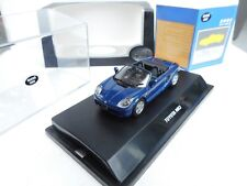 DIECAST TOY 1:43  MAXI CAR  TOYOTA MR -2 IN BLUE NEW OVP
