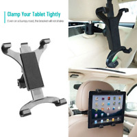 """Rotatable Tablet iPad Holder Car Seat Headres Mount Stand Universal 7-10"""" Inch"""