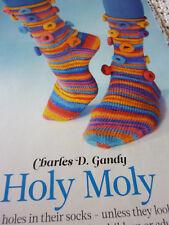 Knitting Pattern Fun Socks In Regia Funstripe 4ply-6 Sizes -Child To Large Adult
