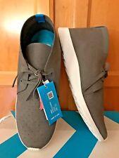NIB Mens Native Apollo Chukka Shoe Grey White Size 11
