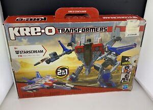 Kreo Transformers Starscream 30667 Hasbro 316 Pieces with Mini Figures