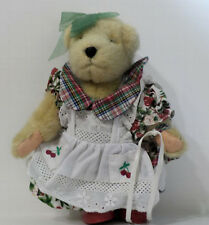 "Muffy Vanderbear doll wearing Cherry Pie outfit 8""H"