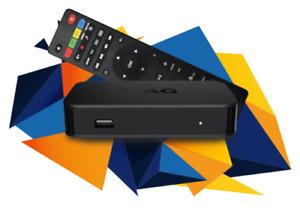 MAG 322 Latest Original Infomir Linux IPTV Set Top Box HEVC H.265 EU UK Plug