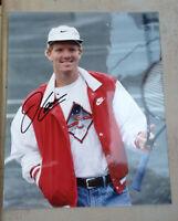 Autographe photo dédicacée Jim Courier célébrité tennis - Idée cadeau original