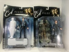 The X Files Fight The Future Agent Fox Mulder Dana Scully Action Figures Lot 2