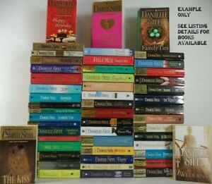 DANIELLE STEEL PAPER BACK NOVELS ASSORTED TITLES, 9TITLES TO CHOOSE FROM