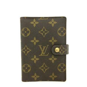 Louis Vuitton Monogram Agenda PM Notebook Cover /90521