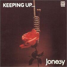 jonesy - keeping up + 3 bonusCD