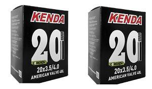 2 camera d'aria fat bike 20x3.50/4.0 valvola america