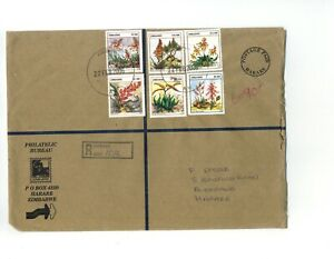 Zimbabwe - 2006 (Inflationist Period) - 53000$ Franking Registered Cover