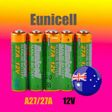 2 x A27 Eunicell 0 Hg 12V 27A Battery Batteries Garage Car Remote Alarm