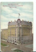 CH-389 NY, New York City, Hotel Marie Antoinette Divided Back Postcard Broadway