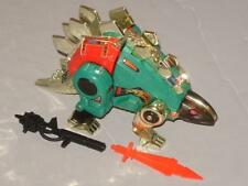 """G2 TRANSFORMER DINOBOT GREEN SNARL COMPLETE LOT # 3 CLEANED """"LOTS OF PICS"""" MINTY"""