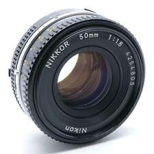 Nikon Nikkor AI-S 50mm F1.8 Pancake Mk iii Mark 3 Manual Focus Prime Lens