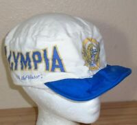 Vintage 1980s Olympia Beer painter or Cycling Hat