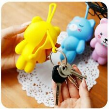 Lovely Cover Portable Cute Silicone Key Holder Key Bag Coin Purse Wallet