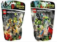 Lego ® Hero Factory doble pack 44023 + 44027 nuevo embalaje original New misb NRFB