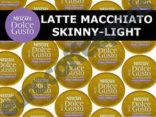 Dolce Gusto Skinny Latte Macchiato Pods 100 Capsule 50 Coffee/ Milk Sold Loose
