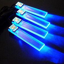 Moda Charm 4 En 1 12V Coche Azul Atmosphere Luz Carga LED Interior Suelo Luces