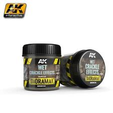 AK TEXTURE PRODUCTS WET CRACKLE EFFECTS - 100ml (Acrylic)