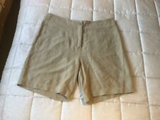 Rohan Ladies Travel Linen Shorts Size 14