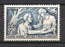France 1941 Yvert n° 498 neuf ** 1er choix