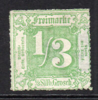 Thurn & Taxis (Northern District) 1/3sgr Stamp c1865 Unused (thins) (5691)