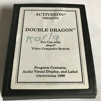 Double Dragon / Cart Only / Atari 2600 / Tested & Working / 7800 / #2