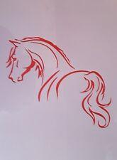 1629 Schablonen Pferde Wandtattoo Stencil Leinwand Textilgestaltung Airbrush